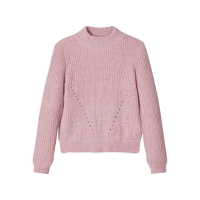 Toviga strikkegenser Kids Pink Nectar