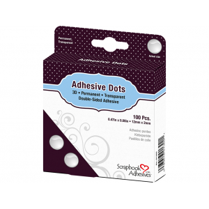 3L Adhesive Dots – Small – 6mm 300stk