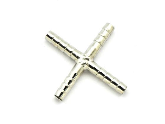 Splitter 4 veis stål 6mm