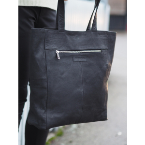 Shopper - Brown and Black