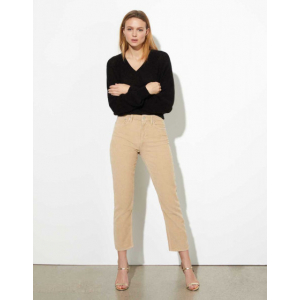 Milo Velvet - Highwaist Cropped