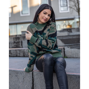 Camo sweater - army