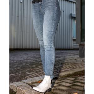 Alexa Ankle Wash - Silver indigo