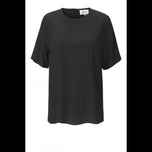 Tonga silk T-shirt - Black