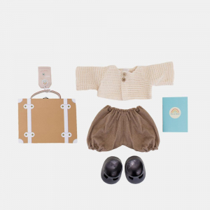 OLLI ELLA - DINKUM DOLL TRAVEL TOGS RUST