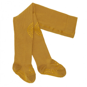 GOBABYGO - CRAWLING TIGHTS MUSTARD
