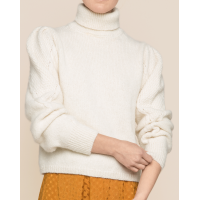 Soft alpaca Turtleneck