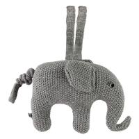Smallstuff Musikuro - Elefant - Grå