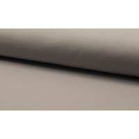 French terry mørk grå
