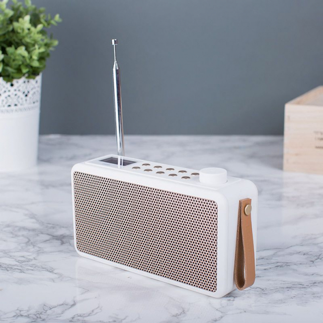 BLUETOOTH RADIO DAB+ HVIT
