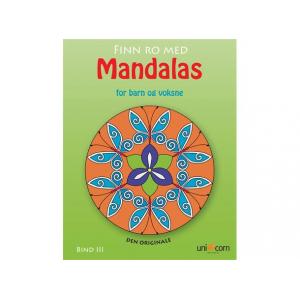 Mandalas malebok Finn ro med Mandalas 3