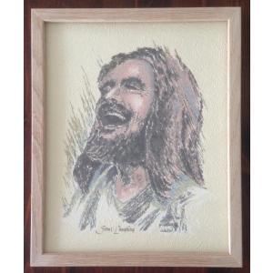 Bilde - Jesus Ler 20 x 25 cm