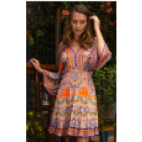Hale Bob ORANGE DRESS