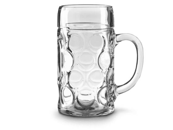 1 liter Ølglass