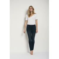 Pulz Carmen High Skinny dark blue denim