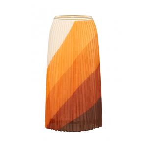 Woven Skirt Under Knee