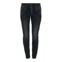 Pulz Melina Loose Jeans dark blue