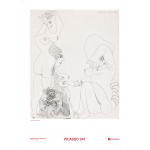 Picasso 347 plakat