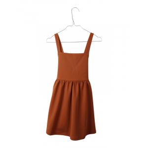 KRUTTER - LEA DRESS CINNAMON