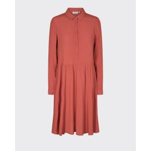 Bindie kjole med prikker marsala