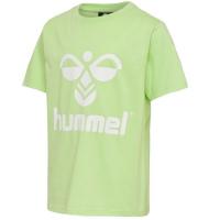 Hummel Tres T-skjorte Green Ash