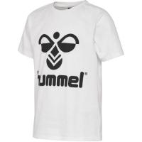 Hummel Tres T-skjorte Whisper White