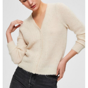Shaita knit v-neck cardigan