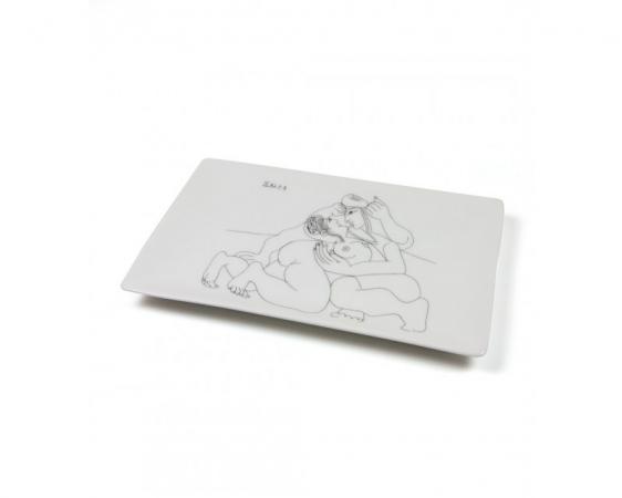 Picasso fat - Rafael og La Fornarina XXIII (1968)
