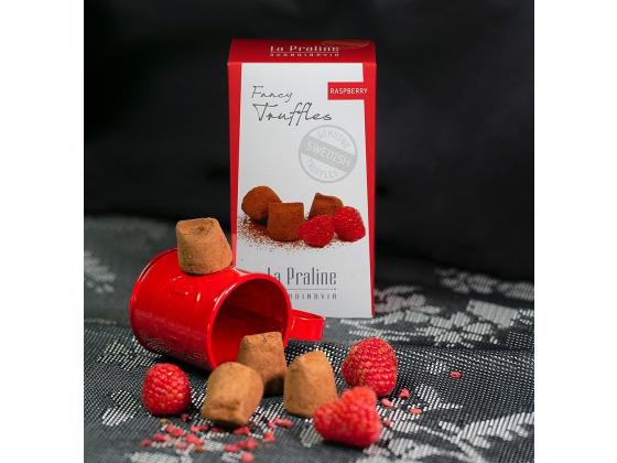 Fancy truffels raspberry