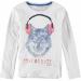 Garcia Kids Boys T-shirt ls White Melee