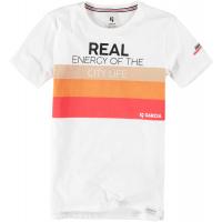 Garcia Teens T-Skjorte Energy Broken White