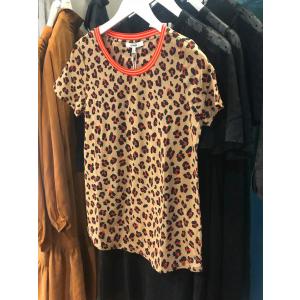 Ladies t-shirt Leopard