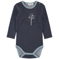 "Name it - Body i ull/bambus ""Wydi"" Ombre Blue"