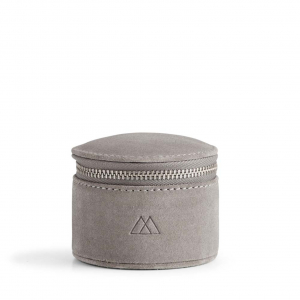 Lova Jewelry Box Small Suede Grey