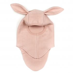 HUTTELIHUT - ELEFANTHUT FLEECE RABBIT DUSTY ROSE