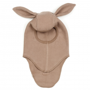 HUTTELIHUT - ELEFANTHUT FLEECE RABBIT NOUGAT