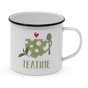 Metallkopp Tea Time 0,4 l