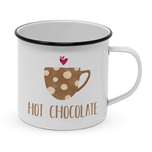 Metallkopp Hot Chocolate 0,4 l