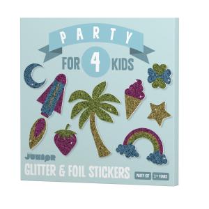 DIY Create glitter stickers
