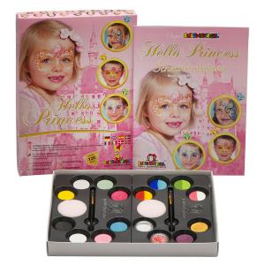 Ansiktsmaling kit Prinsesser