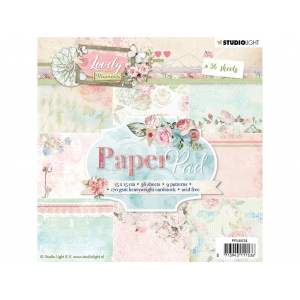 Studio Light Paper Pad 15×15 – Lovely Moments 124