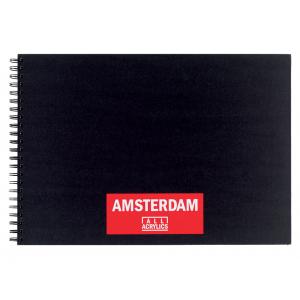 Amsterdam Black Book A3 – 30ark – 250g