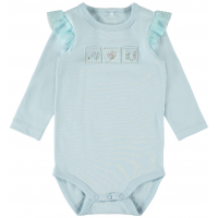 Dunia langermet body baby Dream Blue