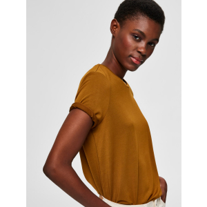 Ella T-skjorte bronze brown