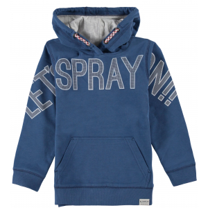Garcia Mini Boys Sweat Hood Cool Blue
