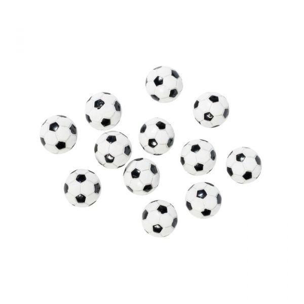 Fotball poly 12stk i pose 2,2cm