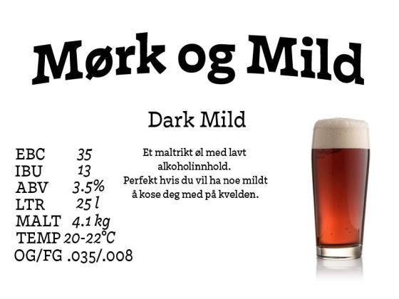 Mørk og mild