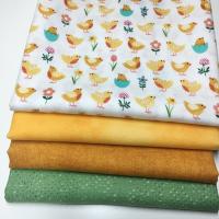 Spring chicks stoffpakke (grønn)