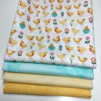 Spring chicks stoffpakke (turkis)