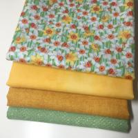 Spring dafodils stoffpakke